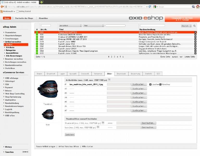Screenshot_OXID_eSales_Backend